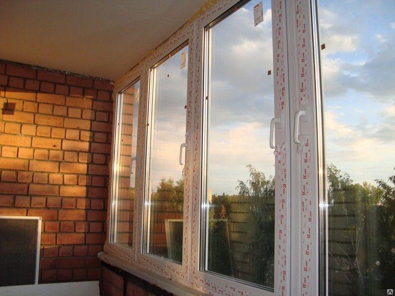 Тройной стеклопакет на балкон.