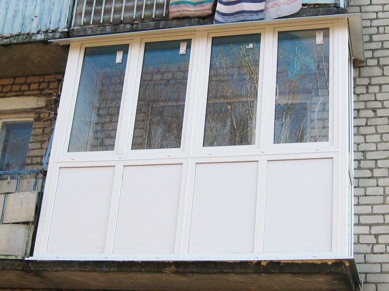 Остекление балкона видио. - как выбрать профиль для окон - к.