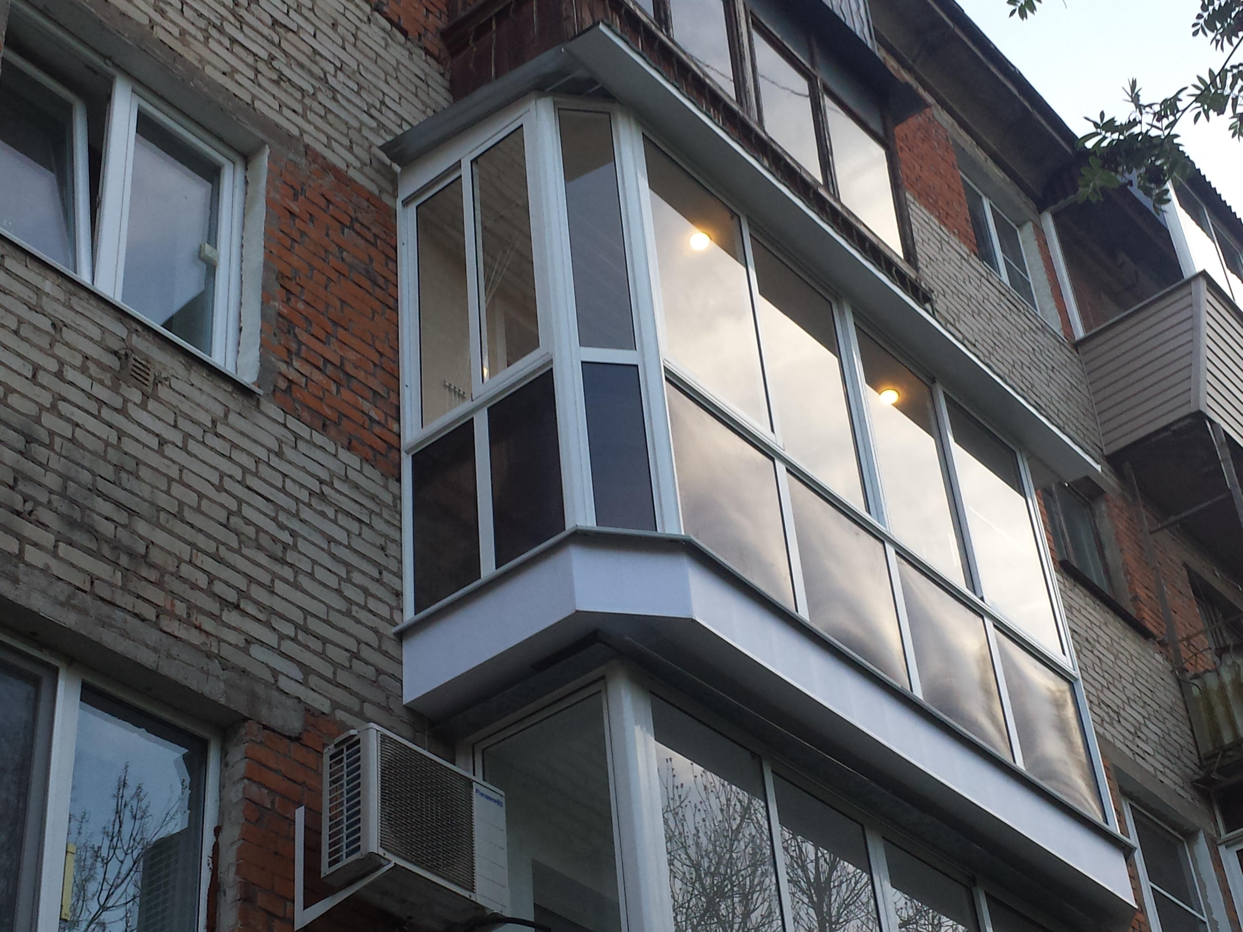 черты фото балконов из стеклопакета поездки