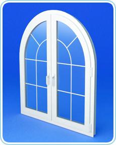 пластиковые арочные окна